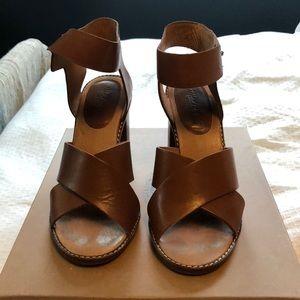 Madewell Crisscross High-Heel Sandal